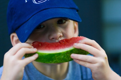 Savor that melon while you can, kid. Photo: Michael Bentley/Flickr