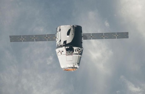 Dragon capsule. Image: NASA