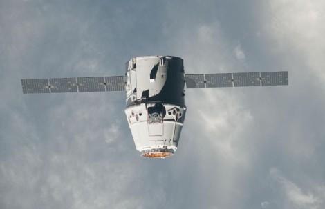 Dragon capsule. Image: NASA